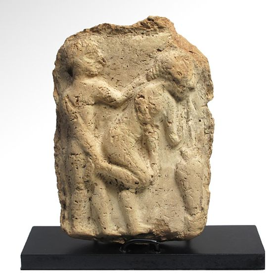 Buy online, view images and see past prices for Babylonian Erotic Plaque, c. 1800 B.C.. Invaluable is the world's largest marketplace for art, antiques, and collectibles.