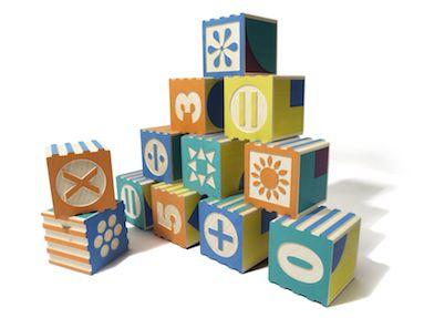 math and patterning blocks