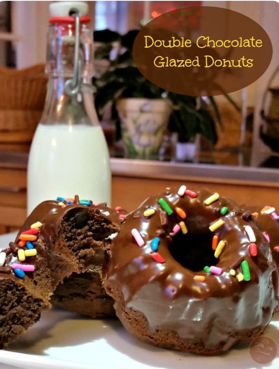 chocolate glazed cakes chocolate and more donuts beverages chocolate ...