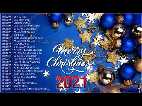 Musique De Noel En Anglais 2021 Les Meilleures Chansons De Noel Collection Merry Christmas 2021 You En 2020 Chanson De Noel Meilleures Chansons Musique De Noel
