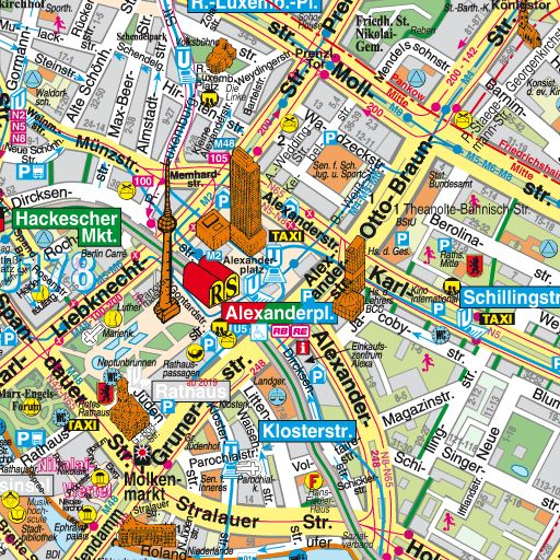 Central Berlin tourist map All I want to do is go to Berlin – Tourist Map of Berlin