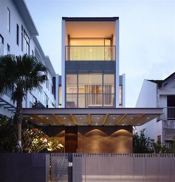 Ultra Sleek Singapore Residence by Hyla Architects 3 Magnifique villa contemporaine à Singapour