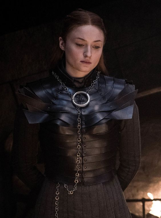 The Hidden Meaning Behind Sansa Stark's Necklace on Game of Thrones #refinery29