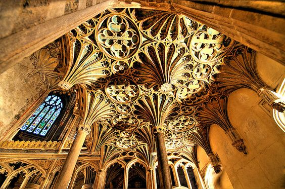 Tewkesbury Abbey - Gloucestershire by nick.garrod, via Flickr. This was one of the most beautiful ones I visited- but I'll admit I didn't go in an ugly one the whole time I was there!