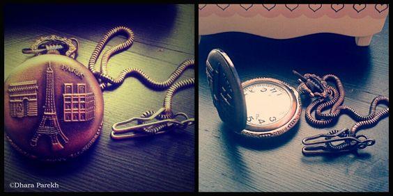 French Pocket Watch  www.mycactusdress.blogspot.com