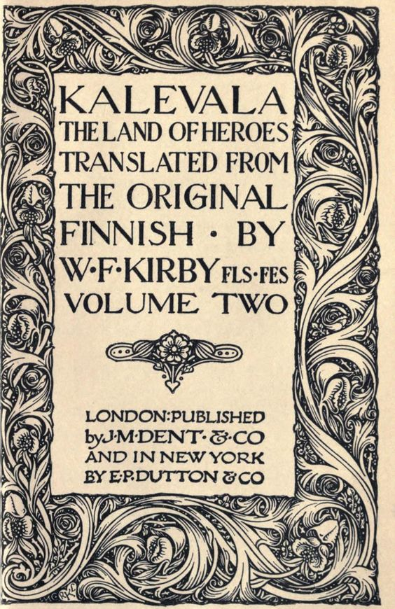 Kalevala, the land of heroes: