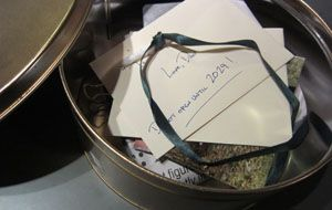 First Birthday Time Capsule - perhaps have all family/friends write a short note & put away with a few other things.