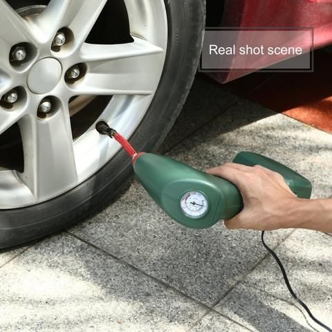 New Handheld Portable Air Compressor Tire Inflator Pump Tire Air Compressor Pumping Car Portable Air Compressor