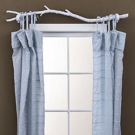 Great curtain-rod idea!: