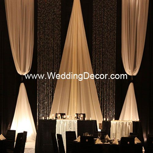 Wedding Backdrop Backdrop Kit Crystal Curtains Event Backdrop Fabric Backdrop
