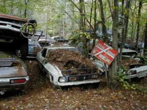 cemiterio de carros antigos no uruguai