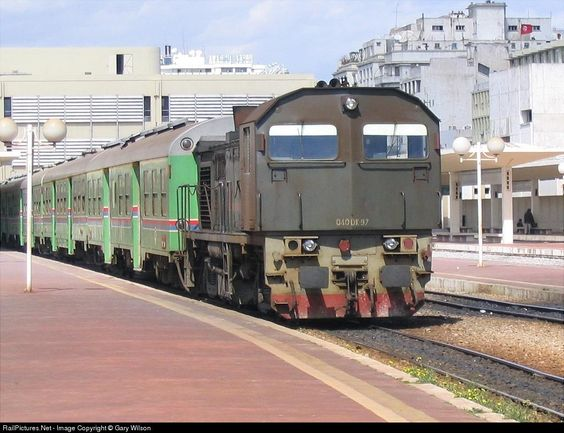 RailPictures.Net Photo: 97 SNCFT 040 DK at Tunis, Tunisia by Gary Wilson