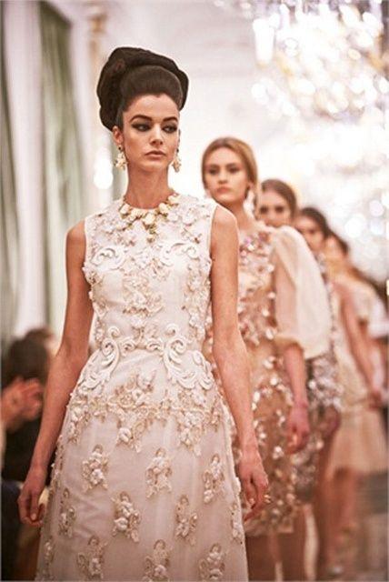 embellished cream dresses