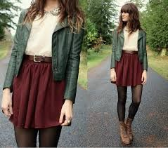 Hipster Mujer Ropa Invierno - Buscar Con Google | Ropa Cool | Pinterest | Faldas Traje Y Hipsters