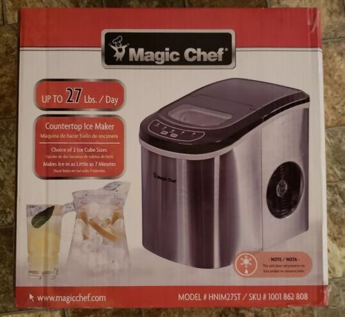 Countertop Ice Makers 122929 Magic Chef Countertop Ice Maker 27