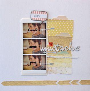 Hey Mr. Mustache  by Nina Ostermann #SoCal