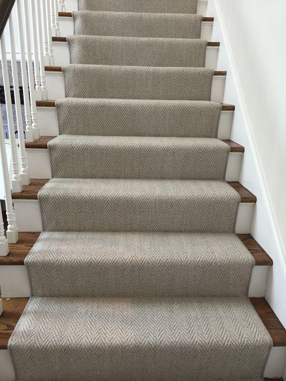 Herringbone Stair Runner Momenirug Herringbone Carpet