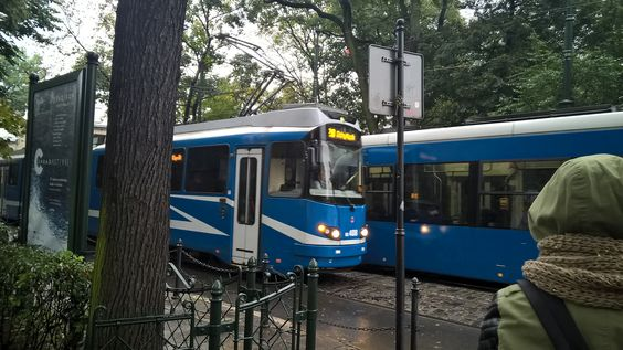 Trams in Cracow...