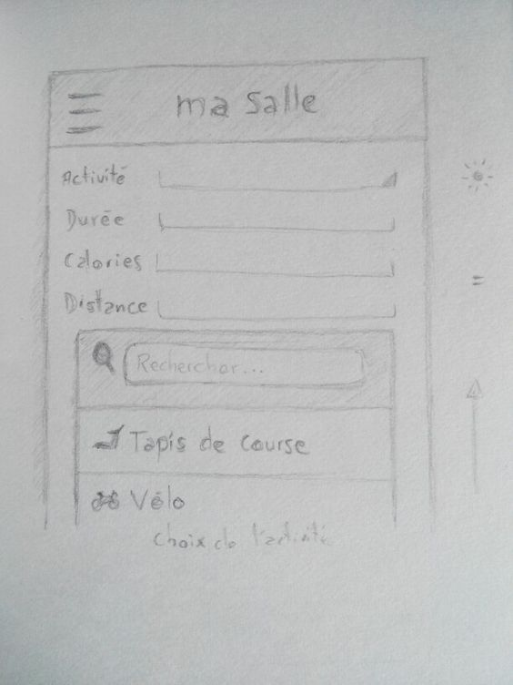 Ma Salle - Wireframe