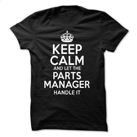 Parts Manager T Shirt, Hoodie, Sweatshirts - customized shirts #Tshirt #style