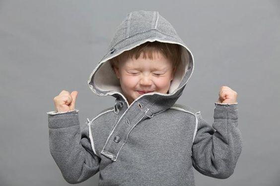 Zipfelpullis - Sweatshirt CHR K 0053 dark melange - ein Designerstück von Piotr-Czachor bei DaWanda
