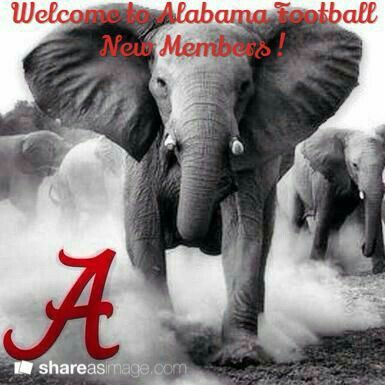 Welcome To Alabama Football