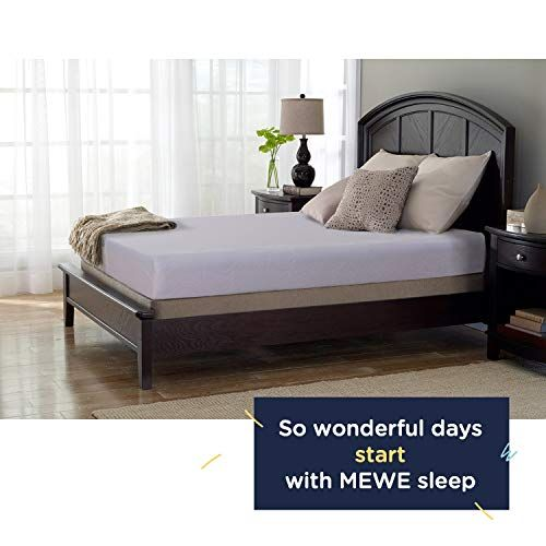 Mewe Gel Memory Foam Mattress 6 Inches Mattress Queen King Twin Cooling Gel Memory Foam 10 Year Warranty Memory F Mattress Memory Foam Mattress Mattress Buying