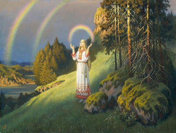 Volkova and the Rainbow- Boris Olshansky