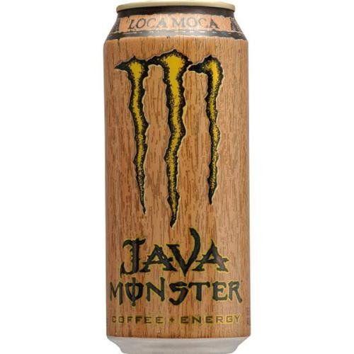 Java Monster Coffee Energy Drink Loca Moca 15 Ounce Cans Pack Of 12 Coffee Energy Monster Energy Drink Drinks