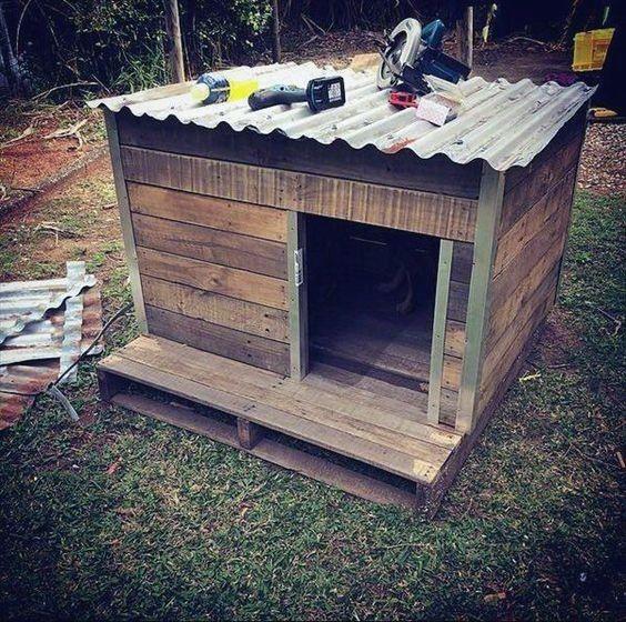 Top 60 Best Dog House Ideas Barkitecture Designs Pallet Dog House Dog House Plans Dog House Diy