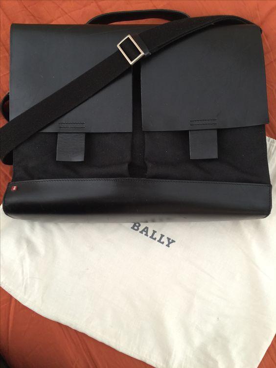 Bally crossbody briefcase 18x13 $650