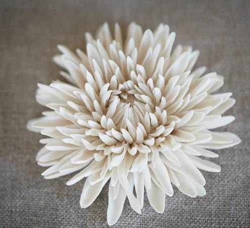 23 best floral sculpture images on pinterest ceramic sculptures porcelain flower by vladimir kanevsky mightylinksfo