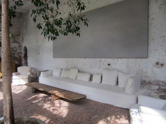 Canapé d'extérieur: