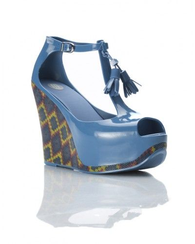 these ones are my favourite    MELISSA  Open toe platform sandal