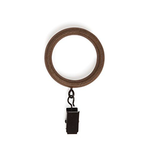 Amazon Com Umbra Clip Curtain Rings Extra Large Curtain Rings With Metal Clips For 1 25 Inch Cur In 2020 Large