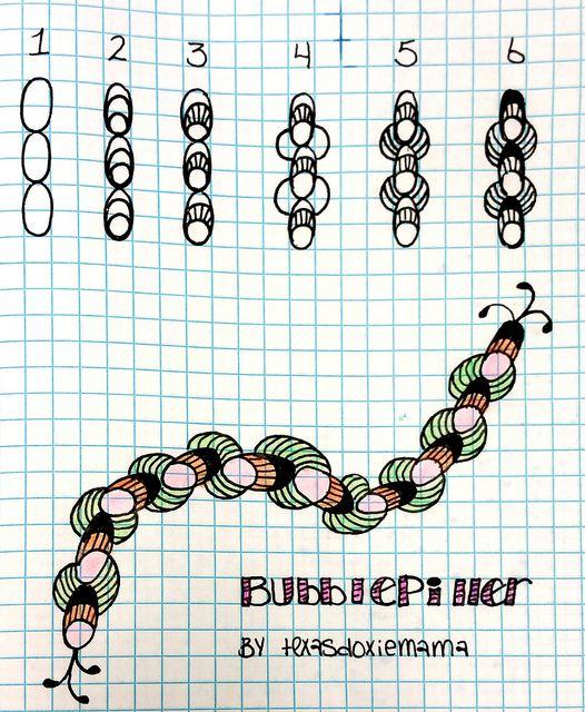 Bubblepiller~Zentangle