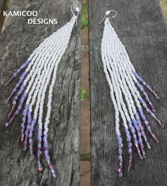 seedbead earrings