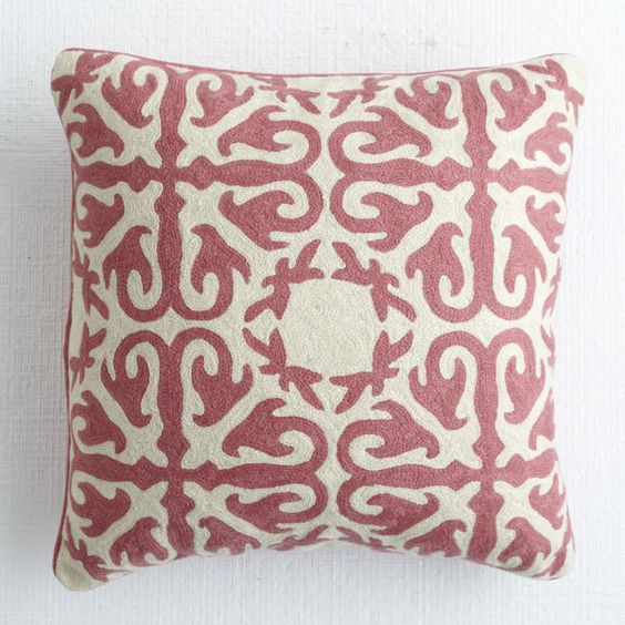 Morocco Pillow - Rose