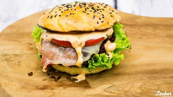 Chorizo Burger mit Manchego - ein Hauch von Spanien auf dem Grill mit dieser leckeren spanischen Wurst und Manchego