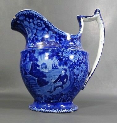 Details about 1825 Historical Staffordshire E Wood Large