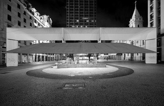Paulo Mendes Da Rocha, Praça de Patriarca, São Paulo, Brazil