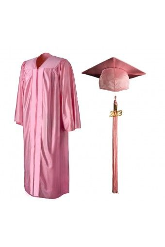 Child Matte White Cap, Gown, Tassel & Diploma | Graduation source ...