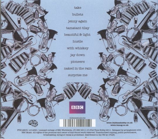 Vanessa Da Silva 2011 Tunng - This Is Tunng... Live From The BBC [Full Time Hobby FTH126CD] #backcover
