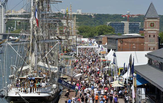 Jusqu'à la grande parade sur Seine du dimanche 16 juin, Rouen vit au rythme de la 6e édition de l'Armada. 37 voiliers et 8 bateaux militaires sont à découvrir sur sept kilomètres de quais…