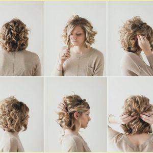 An Easy Twist Hochzeitsfrisuren Fa R Mittellanges Haar Easy