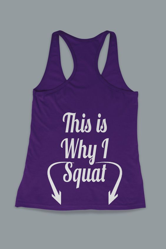 I love this shirt!  Must get it!   This Is Why I Squat Legs Workout Women's Work Out by FitnessFreaks, $15.95