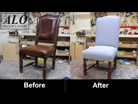 How To Reupholter A Chair Alo Upholstery Youtube Home Decor