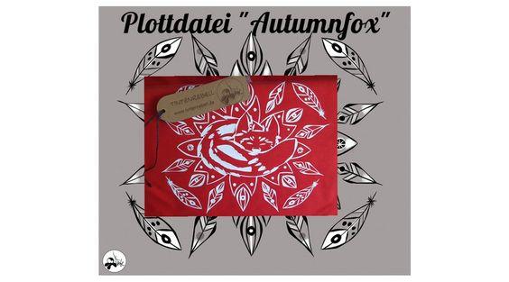"""Weiteres - Plottdatei Tintenrebell """" Autumnfox"""" - ein Designerstück von…"""