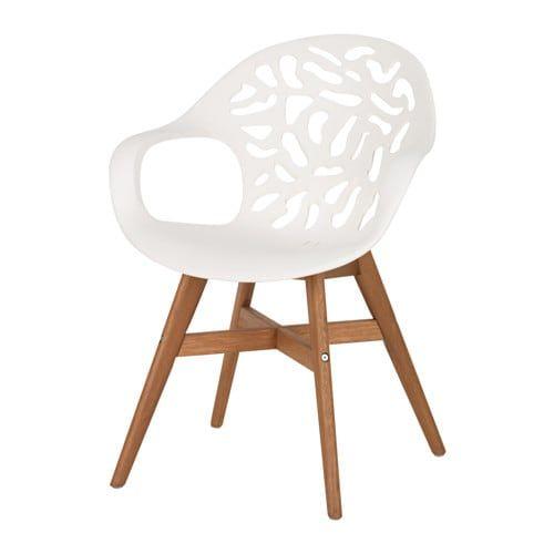 Angrim Chaise Blanc A Motifs Chaise Salle A Manger Mobilier De Salon Et Chaises Blanches