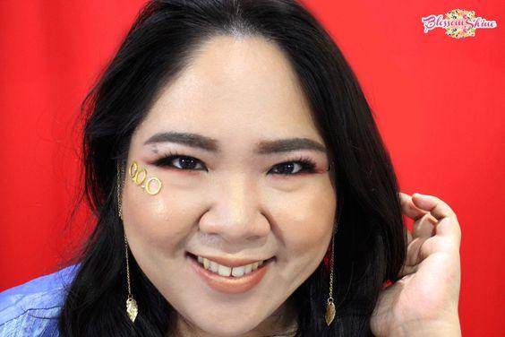 Aladdin Inspired Makeup Look